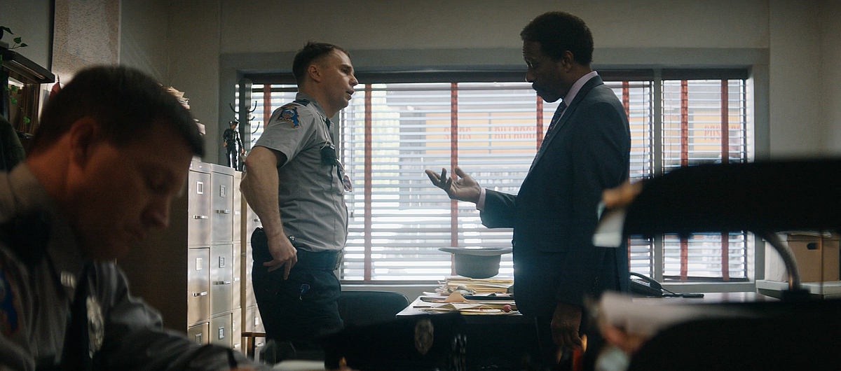 Clarke Peters and Sam Rockwell