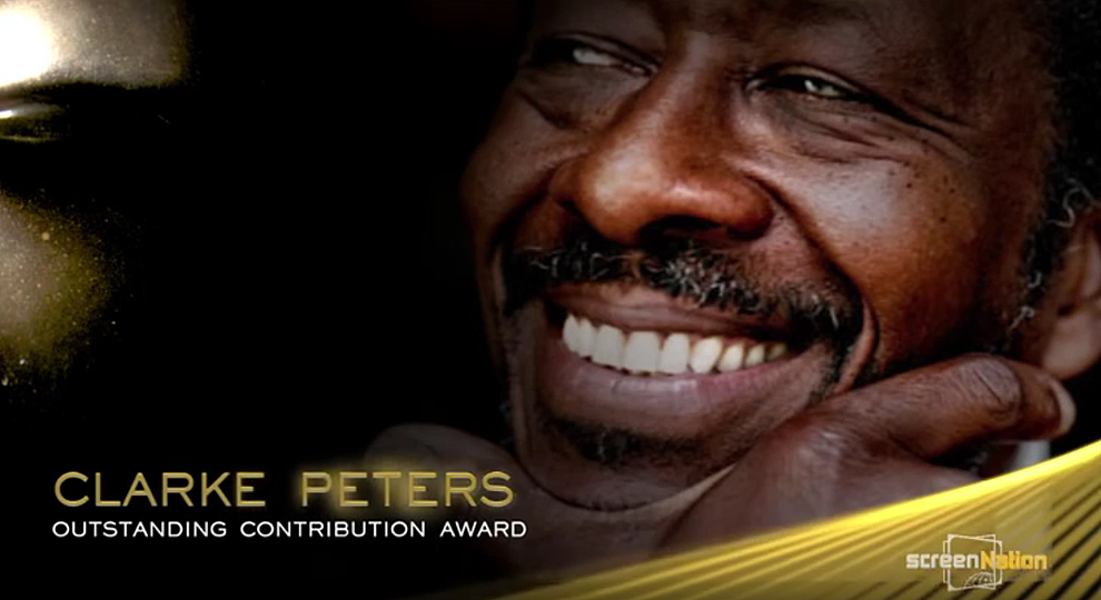 Clarke Peters Outstanding Contribution Award - Screen Nation