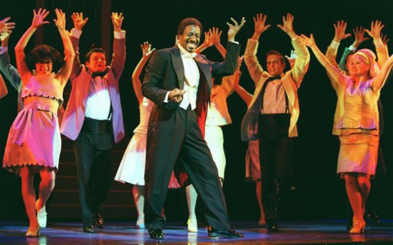 Clarke Peters in Witches of Eastwick, London 2001